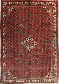 Hosseinabad Rug 253X358 Authentic  Oriental Handknotted Dark Red/Dark Brown Large (Wool, Persia/Iran)