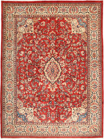 Sarouk Rug 315X426 Authentic  Oriental Handknotted Light Brown/Rust Red Large (Wool, Persia/Iran)