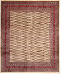サルーク Mir 絨毯 288X360 オリエンタル 手織り 深紅色の/濃い茶色 大きな (ウール, ペルシャ/イラン)