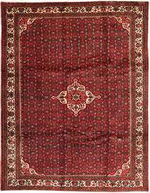 Hosseinabad Rug 258X338 Authentic  Oriental Handknotted Dark Red/Dark Brown Large (Wool, Persia/Iran)