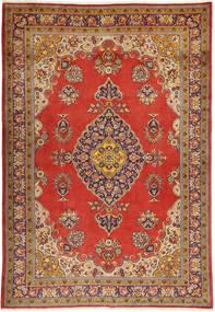 Golpayegan Teppich  213X323 Echter Orientalischer Handgeknüpfter Dunkelbraun/Dunkelrot (Wolle, Persien/Iran)