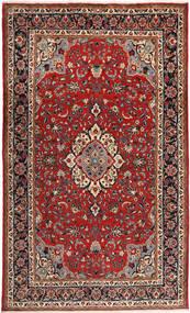 Sarough Teppe 203X333 Ekte Orientalsk Håndknyttet Mørk Rød/Mørk Brun (Ull, Persia/Iran)