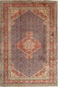 Ardebil Rug 197X300 Authentic  Oriental Handknotted Light Brown/Brown (Wool, Persia/Iran)