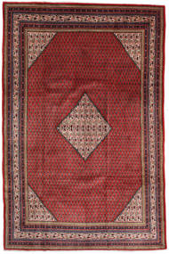 Sarough Mir Matto 207X316 Itämainen Käsinsolmittu Ruskea/Tummanpunainen/Tummansininen (Villa, Persia/Iran)