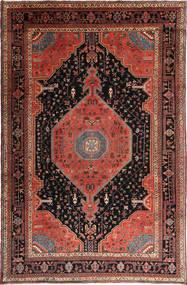 Nahavand Teppe 208X325 Ekte Orientalsk Håndknyttet Mørk Brun/Mørk Rød (Ull, Persia/Iran)