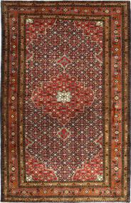Ardebil Matta 199X304 Äkta Orientalisk Handknuten Mörkbrun/Mörkröd (Ull, Persien/Iran)