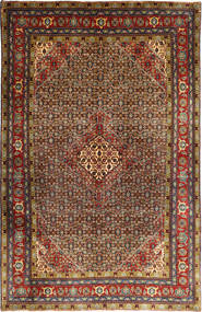 Ardebil Matta 195X298 Äkta Orientalisk Handknuten Mörkbrun/Ljusbrun (Ull, Persien/Iran)