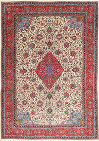 Sarouk Rug 255X353 Authentic  Oriental Handknotted Beige/Dark Red Large (Wool, Persia/Iran)
