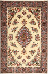 Sarouk Rug 175X265 Authentic  Oriental Handknotted Dark Grey/Beige (Wool, Persia/Iran)