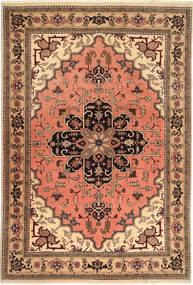 Ardebil Teppich  196X285 Echter Orientalischer Handgeknüpfter Hellbraun/Hellrosa (Wolle, Persien/Iran)