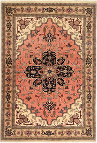 Ardebil Teppe 196X285 Ekte Orientalsk Håndknyttet Lysbrun/Lyserosa (Ull, Persia/Iran)