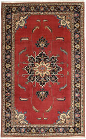 Ardebil Rug 195X317 Authentic  Oriental Handknotted Dark Red/Dark Brown (Wool, Persia/Iran)