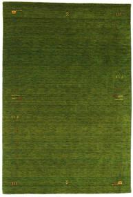 Gabbeh Loom Frame - Grün Teppich  190X290 Moderner Dunkelgrün (Wolle, Indien)