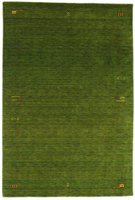 Gabbeh Loom Frame - Green Rug 190X290 Modern Dark Green (Wool, India)