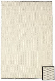 Bobbie - White/Black Rug 200X300 Authentic  Modern Handwoven Beige/Dark Beige (Wool, India)