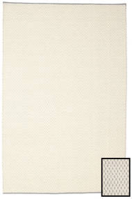 Bobbie - White_Grey Rug 200X300 Authentic  Modern Handwoven Beige/Dark Beige (Wool, India)