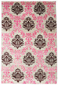 Jardine Rug 190X290 Authentic  Modern Handknotted Light Pink/Light Grey (Silk, India)