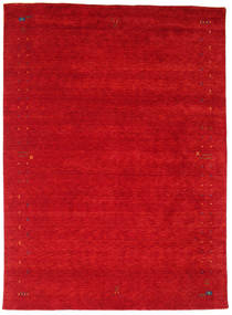 Gabbeh Loom Frame - Red Rug 240X340 Modern Crimson Red (Wool, India)
