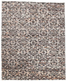Reina Rug 240X300 Authentic  Modern Handknotted Light Grey/Light Brown (Silk, India)