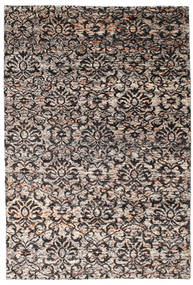 Reina Rug 190X290 Authentic  Modern Handknotted Light Grey/Light Brown (Silk, India)