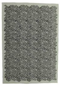 Camelia Szőnyeg 160X230 Modern Kézi Szövésű Sötétszürke/Világosszürke (Gyapjú, India)
