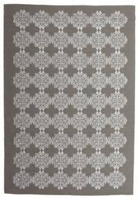 Zakai Tapis 200X300 Moderne Tissé À La Main Gris Foncé/Gris Clair (Laine, Inde)