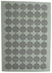 Zakai Tæppe 200X300 Ægte Moderne Håndvævet Mørkegrå/Mørkeblå (Uld, Indien)