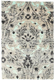 Lennox Rug 120X180 Authentic  Modern Handknotted Light Grey/Beige (Silk, India)