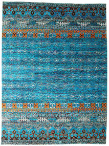 Quito - Turquoise Rug 280X380 Authentic  Modern Handknotted Blue/Turquoise Blue Large (Silk, India)