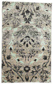 Lennox Rug 100X160 Authentic  Modern Handknotted Light Grey/White/Creme (Silk, India)
