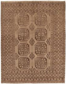 Afghan Matta 146X191 Äkta Orientalisk Handknuten Brun (Ull, Afghanistan)