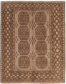 Afghan Matto 151X188 Itämainen Käsinsolmittu Ruskea/Vaaleanruskea (Villa, Afganistan)