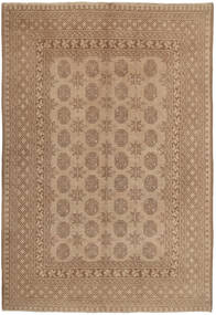 Afghan Rug 147X229 Authentic  Oriental Handknotted Light Brown/Brown (Wool, Afghanistan)