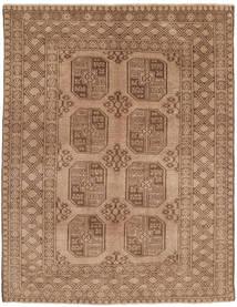 Afghan Matto 147X192 Itämainen Käsinsolmittu Vaaleanruskea/Ruskea (Villa, Afganistan)