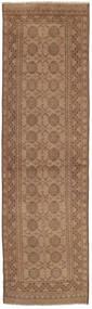 Afghan Rug 71X276 Authentic  Oriental Handknotted Hallway Runner  Brown/Light Brown (Wool, Afghanistan)