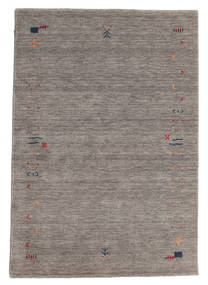 Gabbeh Loom Frame - Grey Rug 140X200 Modern Light Grey/Dark Grey (Wool, India)