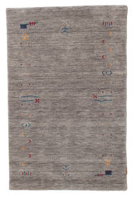 Gabbeh Loom Frame - Grey Rug 100X160 Modern Light Grey/Dark Grey (Wool, India)