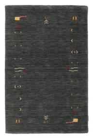 Gabbeh Loom Frame - Mörkgrå/Grön Matta 100X160 Modern Mörkgrön/Mörkgrå (Ull, Indien)