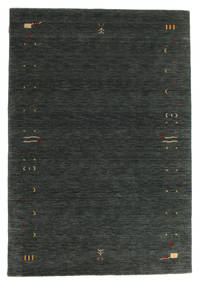 Gabbeh Loom Frame - Dark Grey/Green Rug 160X230 Modern Dark Green/Dark Grey (Wool, India)