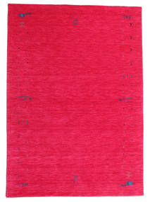 Gabbeh Loom Frame - Cerise Rug 160X230 Modern Pink/Crimson Red (Wool, India)