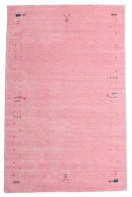 Gabbeh Loom Frame - Roosa Matto 190X290 Moderni Vaaleanpunainen/Pinkki (Villa, Intia)