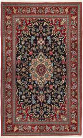 Ghom Sherkat Farsh Alfombra 150X260 Oriental Hecha A Mano Marrón/Gris Oscuro (Lana, Persia/Irán)