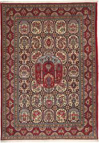 Ghom Sherkat Farsh Matta 170X240 Äkta Orientalisk Handknuten Brun/Mörkgrå (Ull, Persien/Iran)