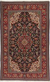 Ghom Sherkat Farsh Matta 150X254 Äkta Orientalisk Handknuten Mörkröd/Ljusbrun (Ull, Persien/Iran)