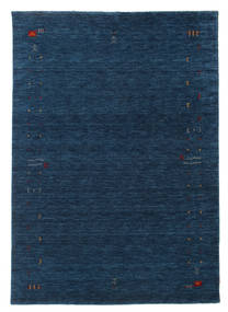 Gabbeh Loom Frame - Mørkeblå tæppe CVD15932