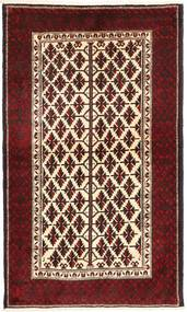 Belouch Alfombra 110X190 Oriental Hecha A Mano Rojo Oscuro/Beige (Lana, Persia/Irán)