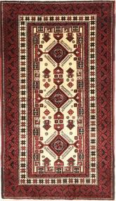 Balouch Szőnyeg 93X183 Keleti Csomózású Barna/Sötétbarna (Gyapjú, Perzsia/Irán)
