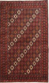 Beluch Matta 100X175 Äkta Orientalisk Handknuten Mörkröd/Brun (Ull, Persien/Iran)