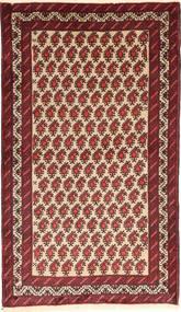 Belutsch Teppich  100X180 Echter Orientalischer Handgeknüpfter Dunkelrot/Dunkelbraun (Wolle, Persien/Iran)