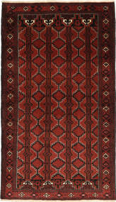 Baluch Rug 110X193 Authentic  Oriental Handknotted Dark Red (Wool, Persia/Iran)